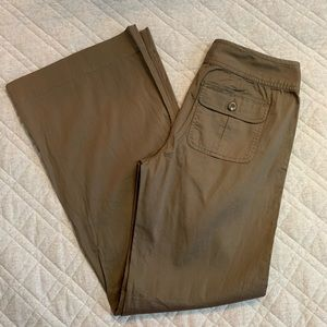 🆕🦋 CAbi Hanna Wide Leg Cotton Trouser Pants #345
